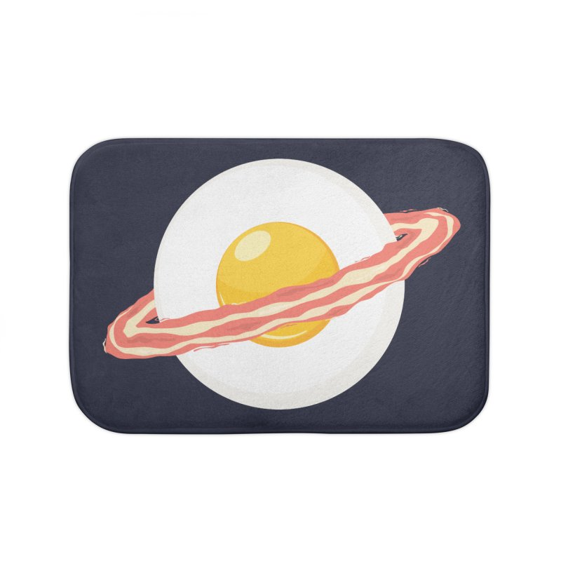 Outer space breakfast Home Bath Mat by YANMOS