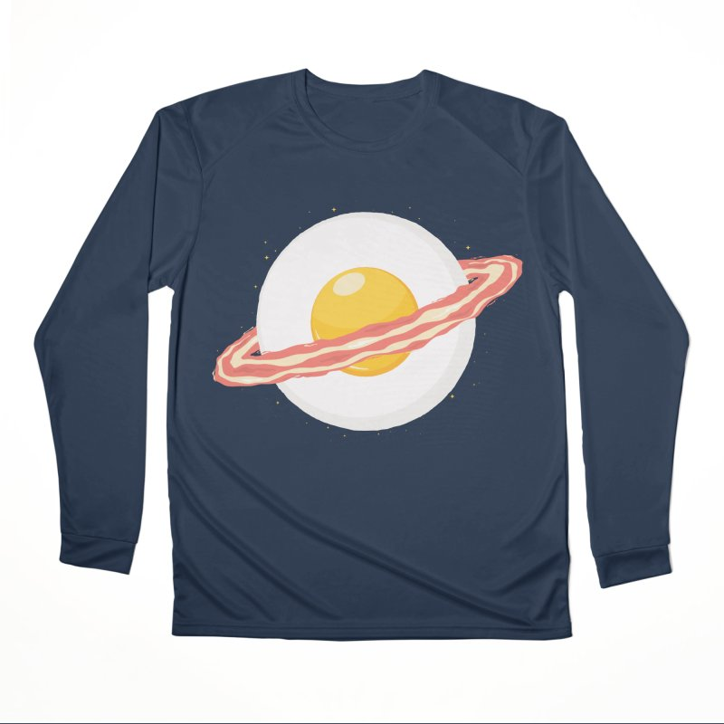 Outer space breakfast Men's Performance Longsleeve T-Shirt by YANMOS