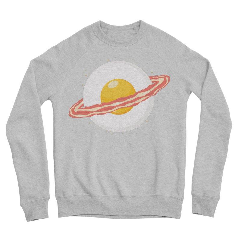 Outer space breakfast Men's Sponge Fleece Sweatshirt by YANMOS