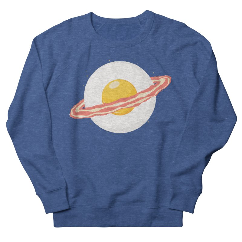 Outer space breakfast Men's Sweatshirt by YANMOS