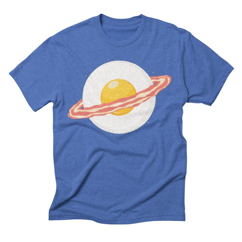 Outer space breakfast Men's T-Shirt by YANMOS