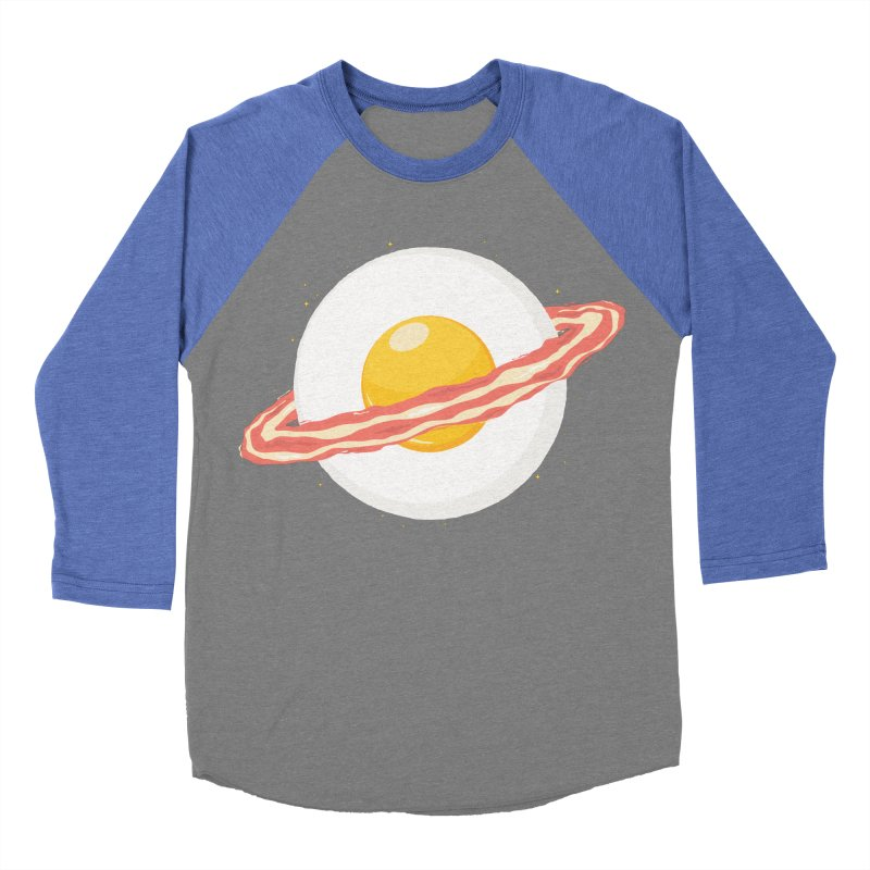 Outer space breakfast Women's Baseball Triblend Longsleeve T-Shirt by YANMOS