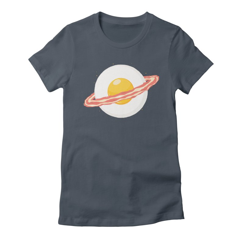 Outer space breakfast Women's T-Shirt by YANMOS