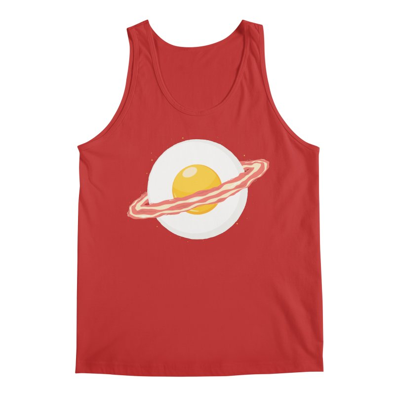 Outer space breakfast Men's Regular Tank by YANMOS