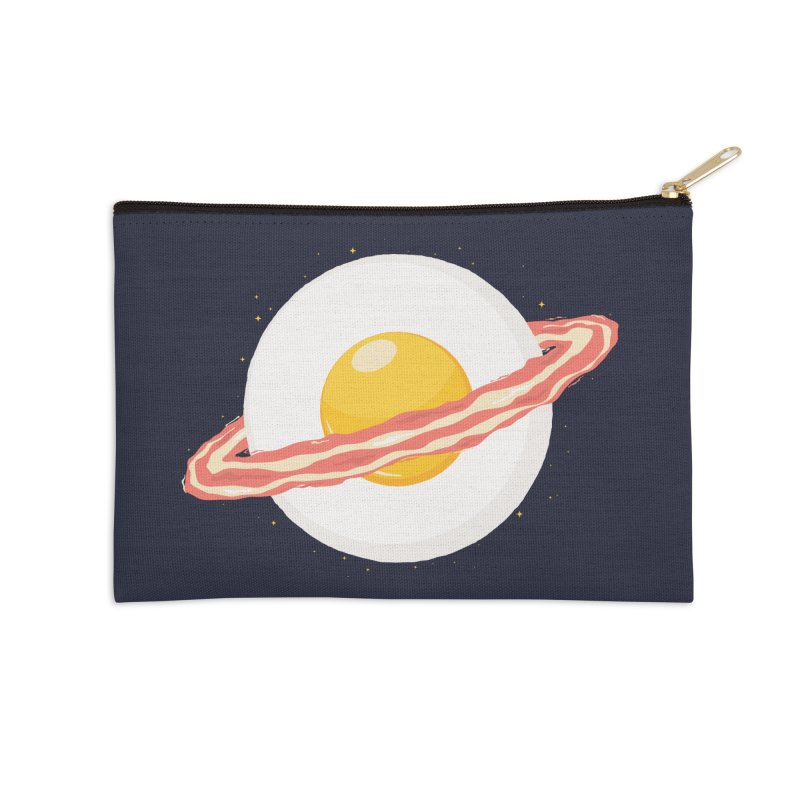 Outer space breakfast Accessories Zip Pouch by YANMOS