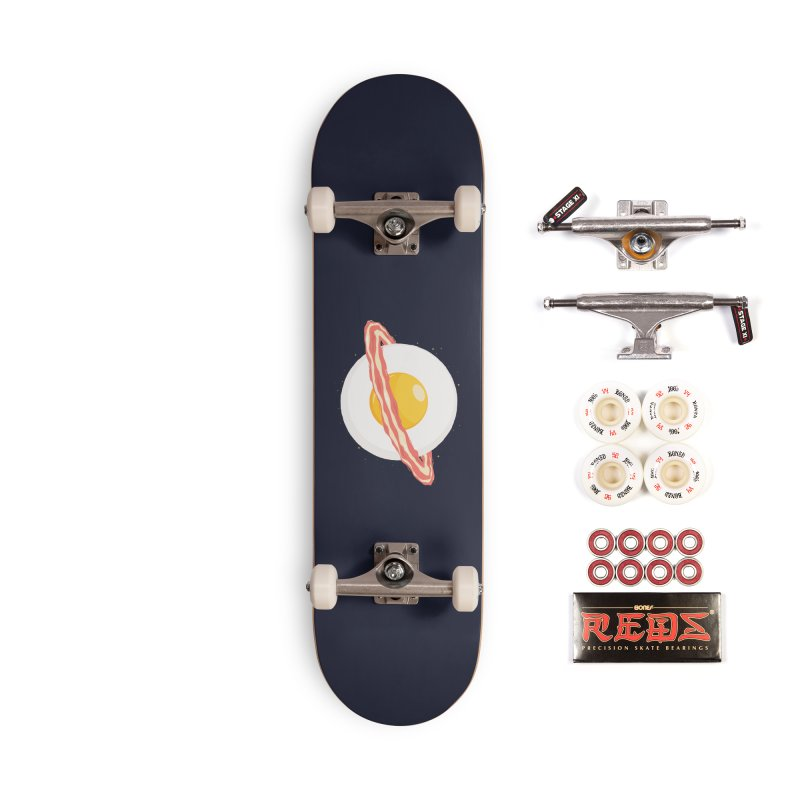 Outer space breakfast Accessories Complete - Pro Skateboard by YANMOS
