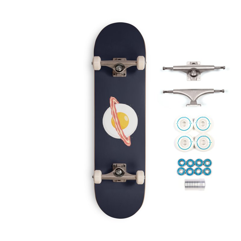 Outer space breakfast Accessories Complete - Basic Skateboard by YANMOS