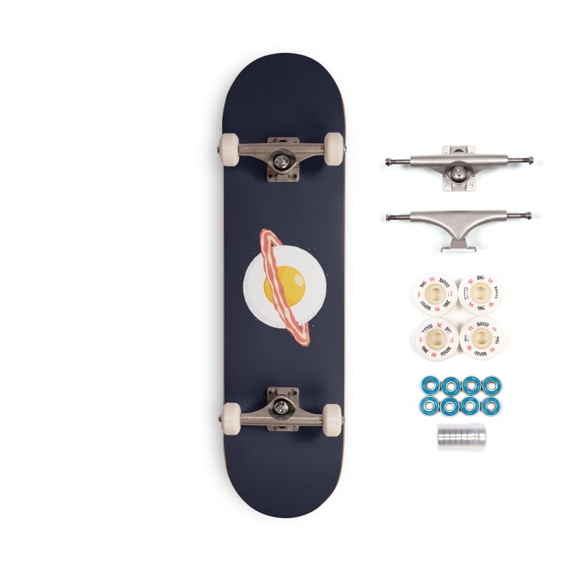 Outer space breakfast Accessories Complete - Premium Skateboard by YANMOS