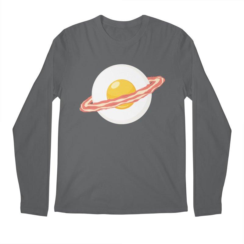Outer space breakfast Men's Longsleeve T-Shirt by YANMOS