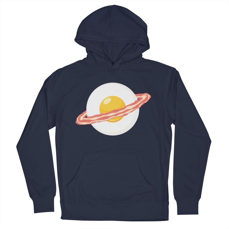 Outer space breakfast Men's Pullover Hoody by YANMOS