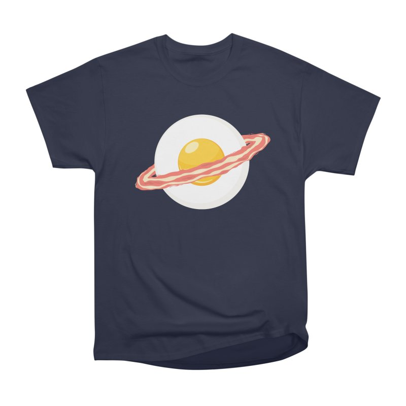 Outer space breakfast Women's Heavyweight Unisex T-Shirt by YANMOS