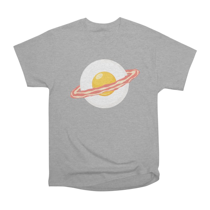 Outer space breakfast Men's Heavyweight T-Shirt by YANMOS