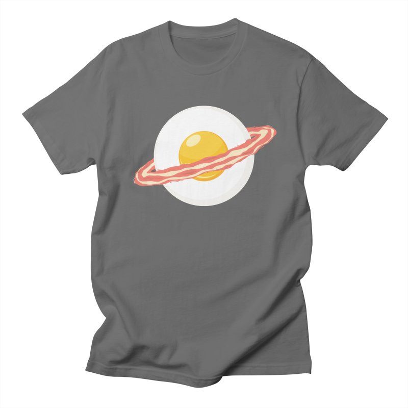 Outer space breakfast Men's Regular T-Shirt by YANMOS