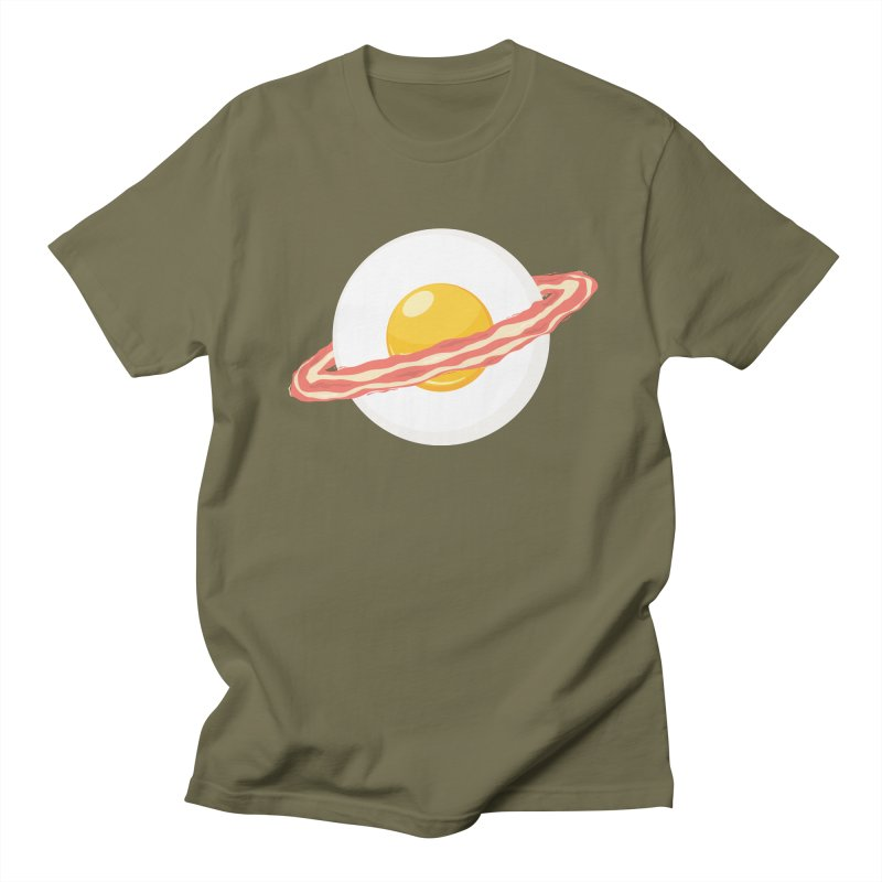 Outer space breakfast Women's Unisex T-Shirt by YANMOS