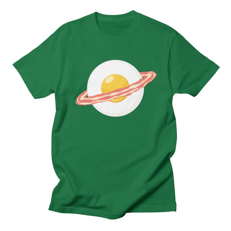 Outer space breakfast Women's Regular Unisex T-Shirt by YANMOS