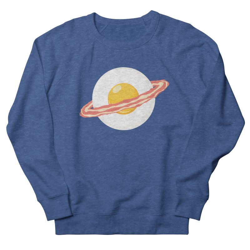 Outer space breakfast Women's French Terry Sweatshirt by YANMOS