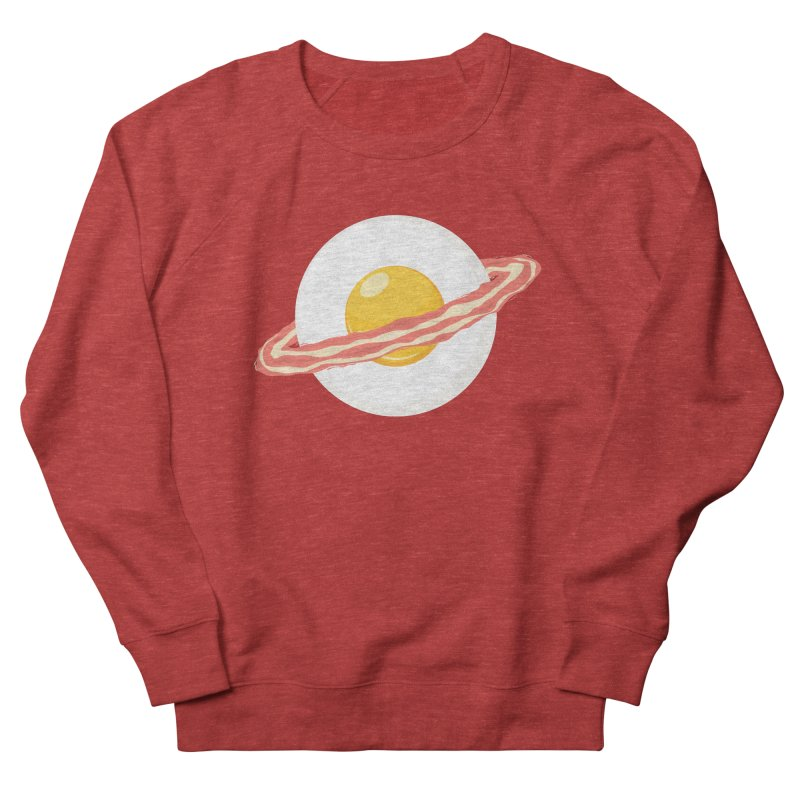 Outer space breakfast Men's French Terry Sweatshirt by YANMOS