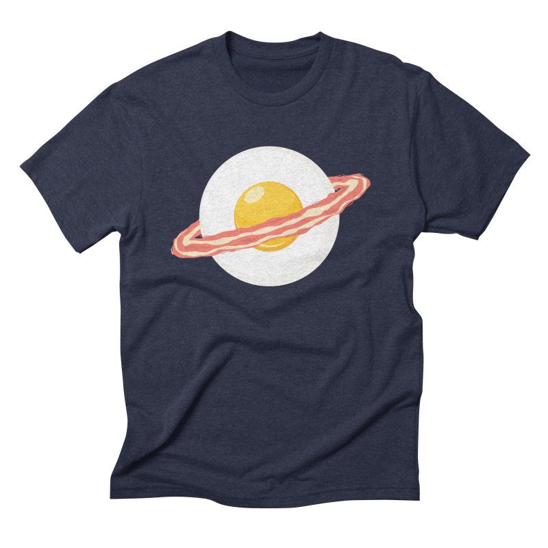 Outer space breakfast Men's Triblend T-Shirt by YANMOS