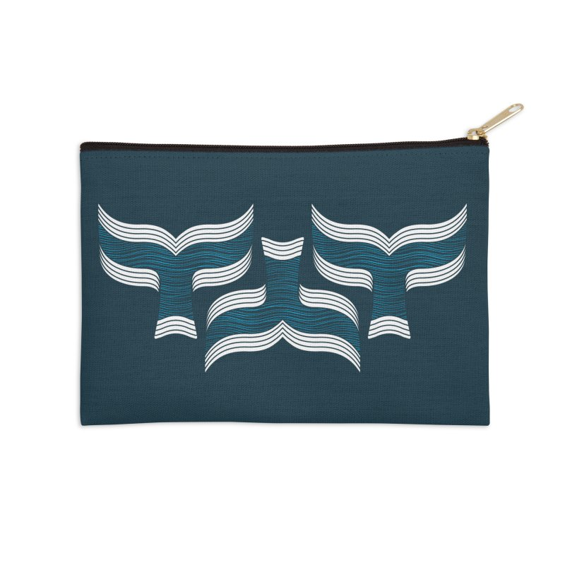 Oceanic (pattern) Accessories Zip Pouch by YANMOS