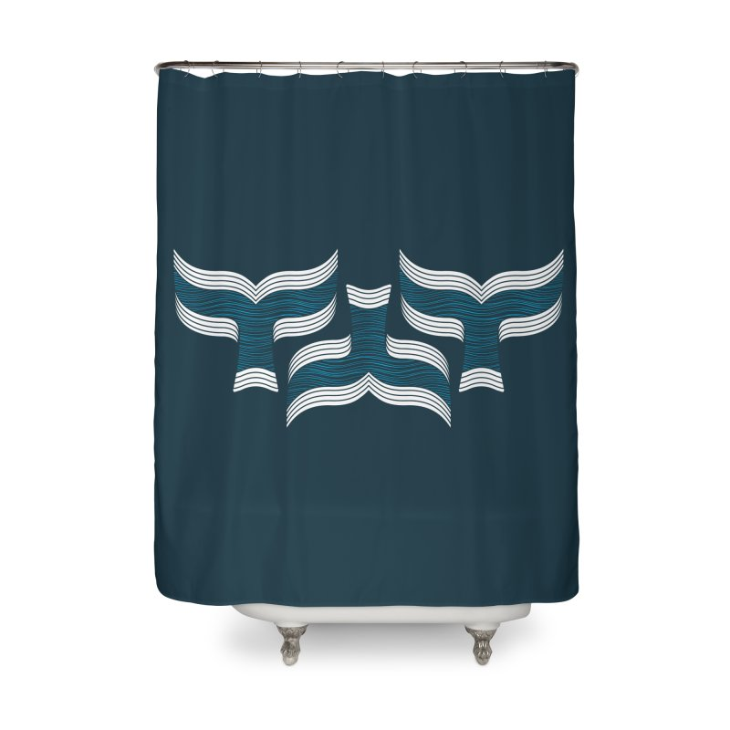 Oceanic (pattern) Home Shower Curtain by YANMOS