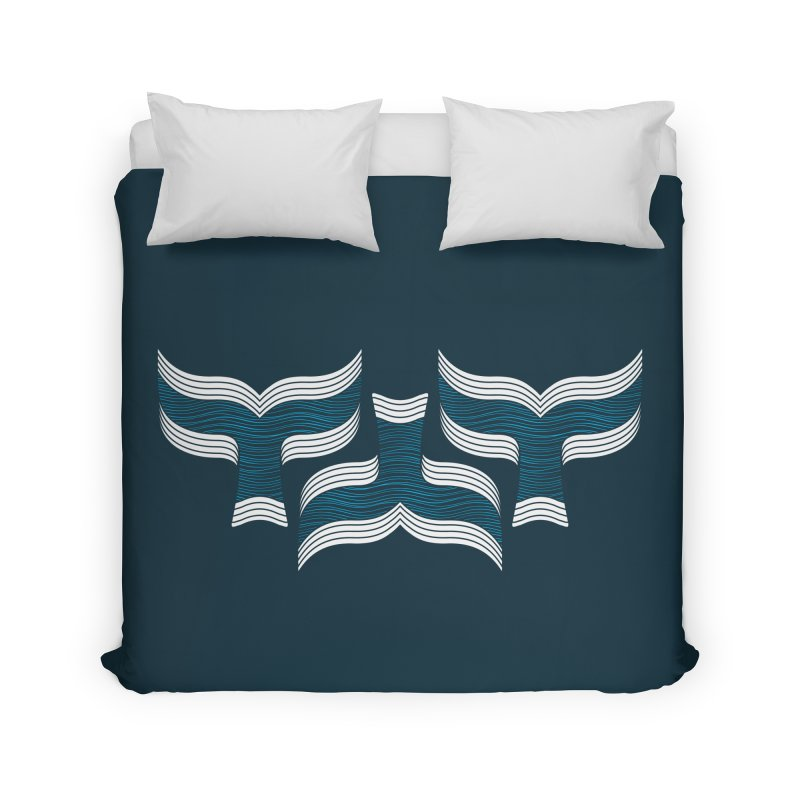 Oceanic (pattern) Home Duvet by YANMOS