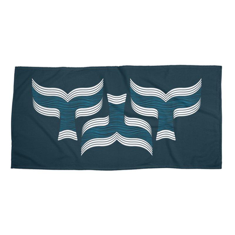 Oceanic (pattern) Accessories Beach Towel by YANMOS