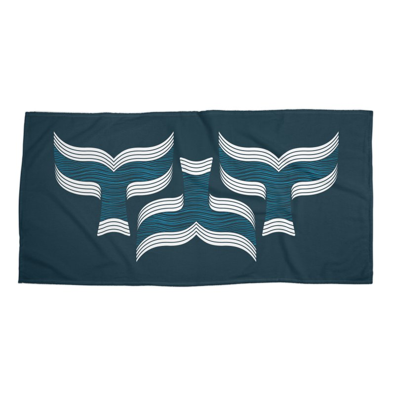 Oceanic (pattern) Accessories Beach Towel by YANMOS