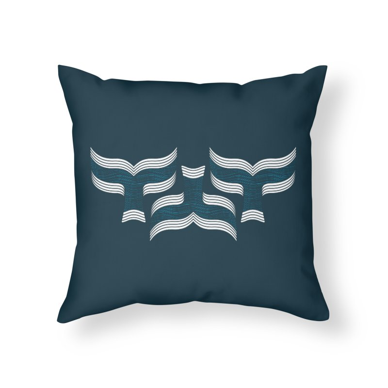 Oceanic (pattern) Home Throw Pillow by YANMOS