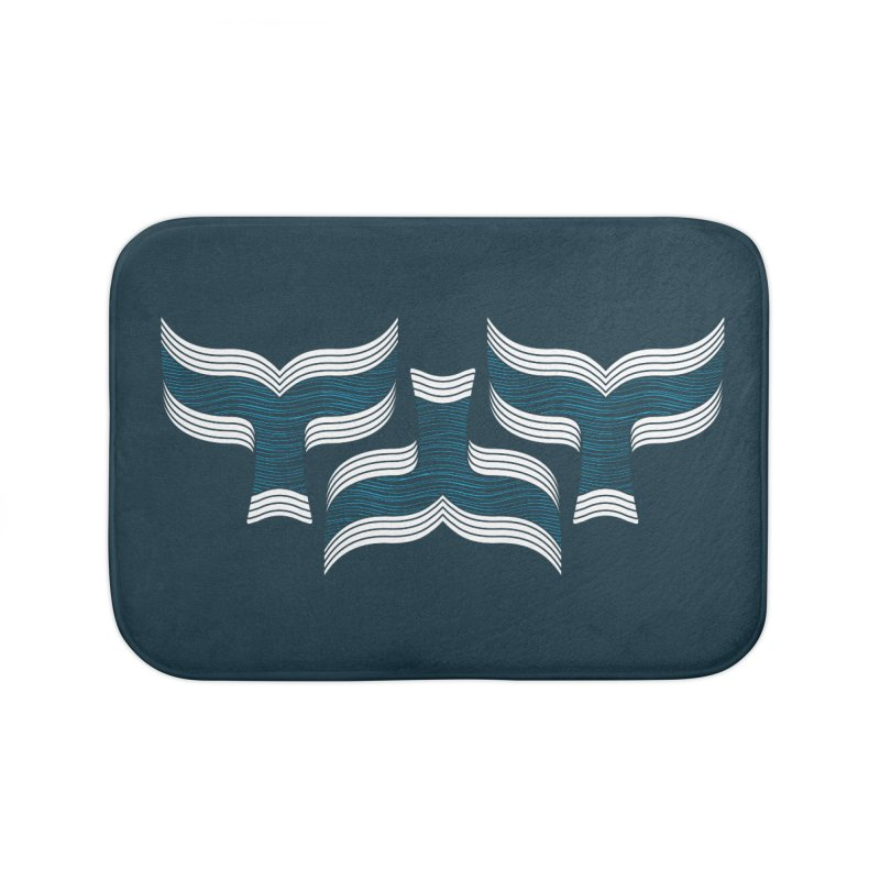 Oceanic (pattern) Home Bath Mat by YANMOS