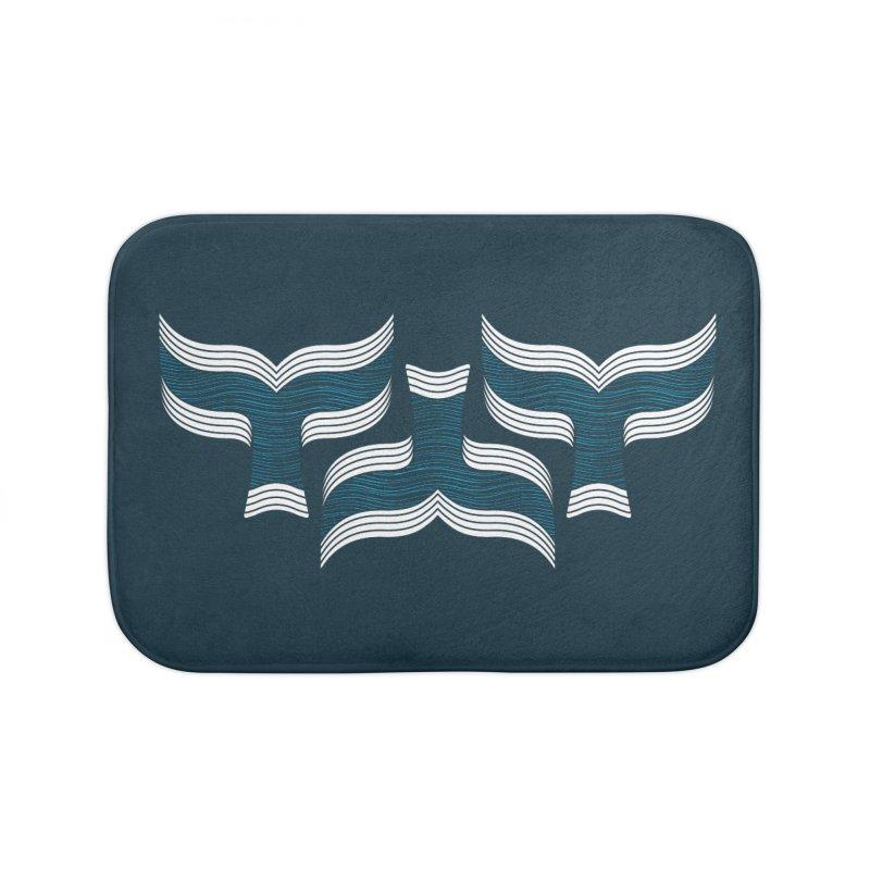 Oceanic (pattern) Home Bath Mat by YANMOS