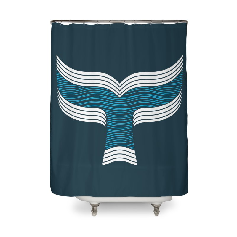 Oceanic Home Shower Curtain by YANMOS