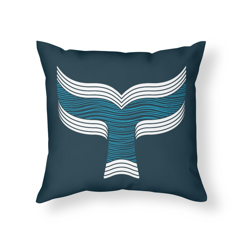 Oceanic Home Throw Pillow by YANMOS