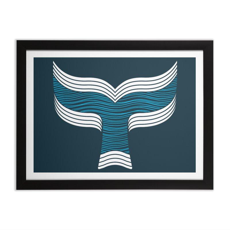 Oceanic Home Framed Fine Art Print by YANMOS