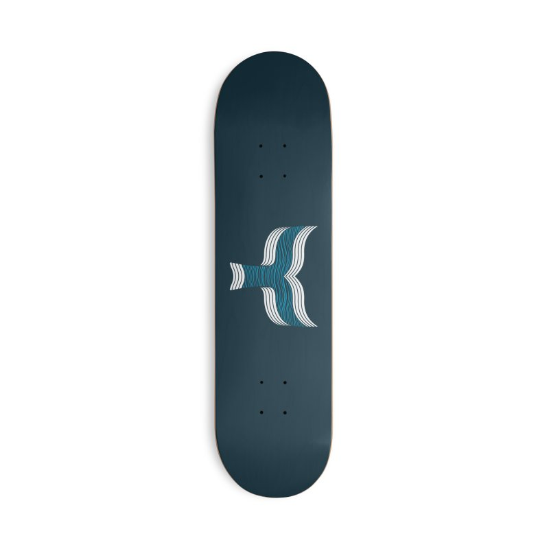Oceanic Accessories Deck Only Skateboard by YANMOS