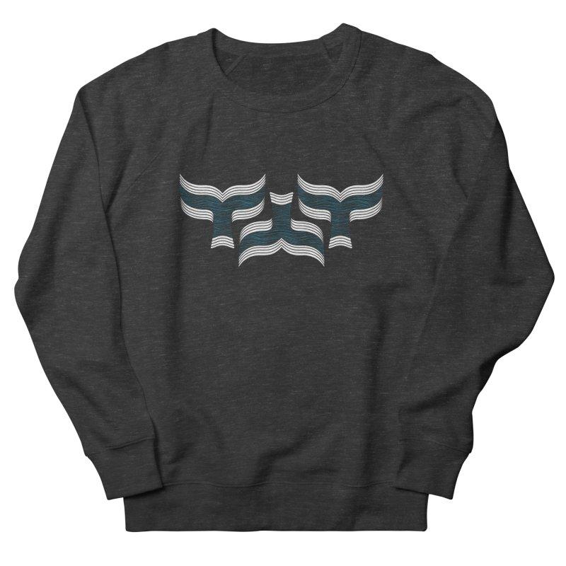Oceanic (pattern) Men's French Terry Sweatshirt by YANMOS