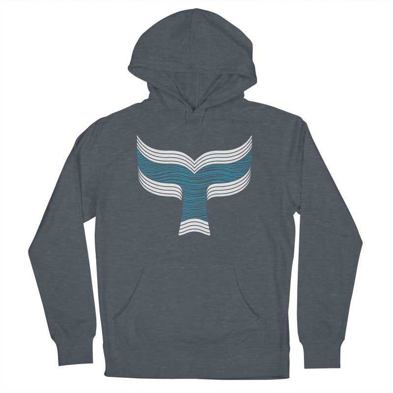 Oceanic Women's French Terry Pullover Hoody by YANMOS