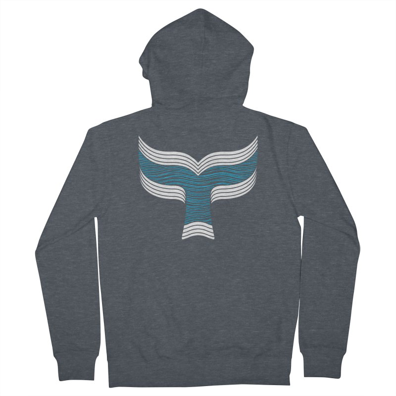 Oceanic Women's French Terry Zip-Up Hoody by YANMOS