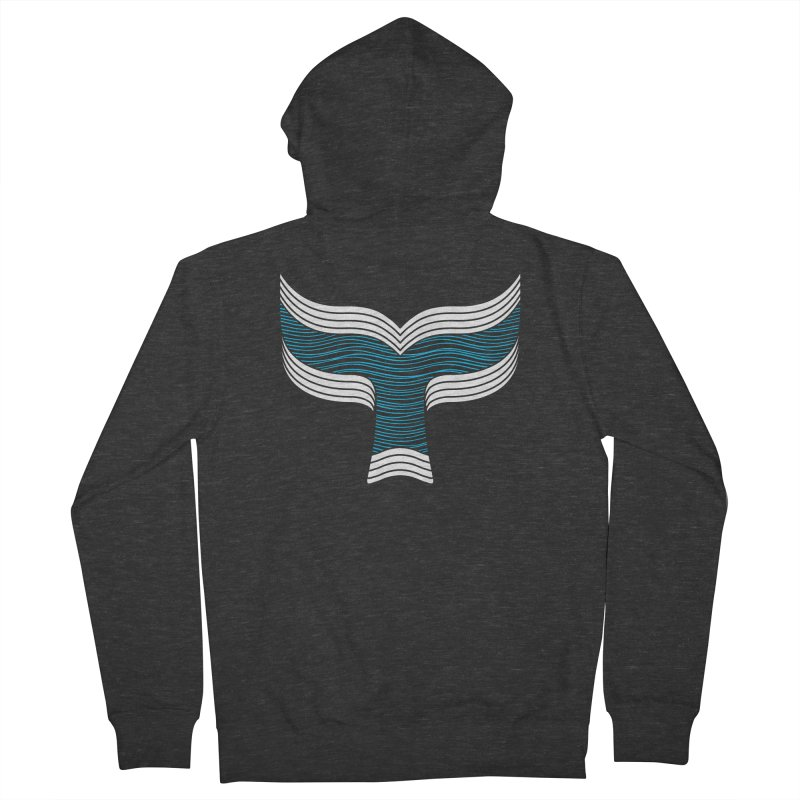 Oceanic Men's French Terry Zip-Up Hoody by YANMOS