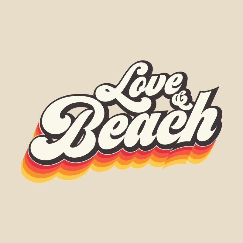 Love & Beach Men's V-Neck by YANMOS