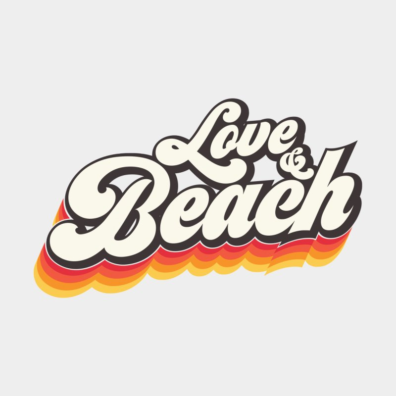 Love & Beach Men's T-Shirt by YANMOS