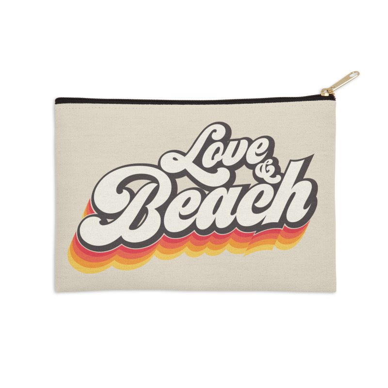 Love & Beach Accessories Zip Pouch by YANMOS