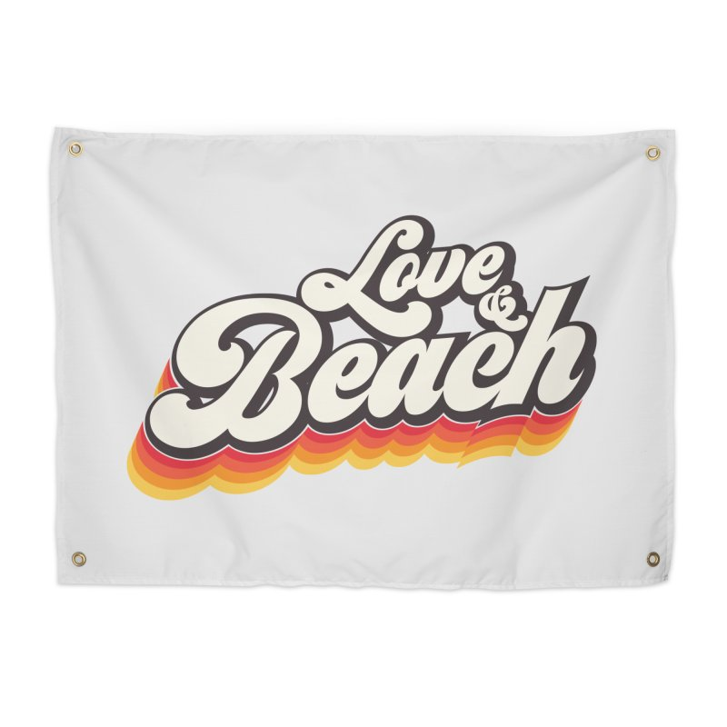 Love & Beach Home Tapestry by YANMOS