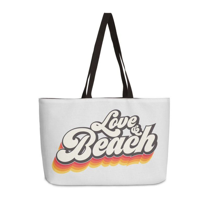 Love & Beach Accessories Weekender Bag Bag by YANMOS