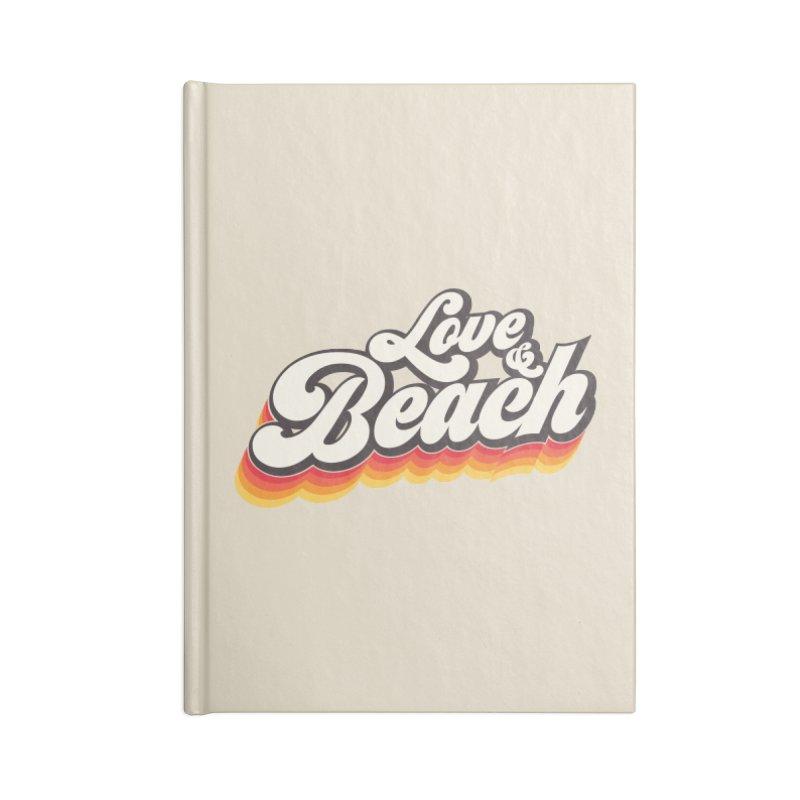 Love & Beach Accessories Blank Journal Notebook by YANMOS