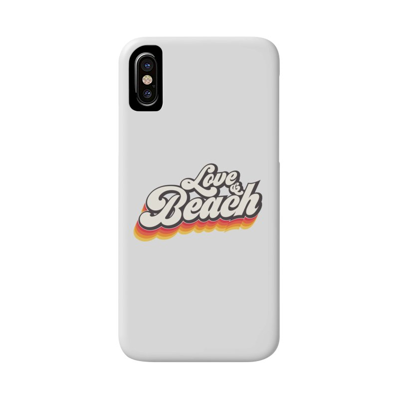 Love & Beach Accessories Phone Case by YANMOS