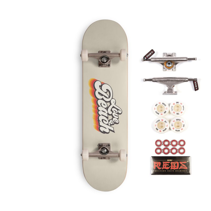 Love & Beach Accessories Complete - Pro Skateboard by YANMOS
