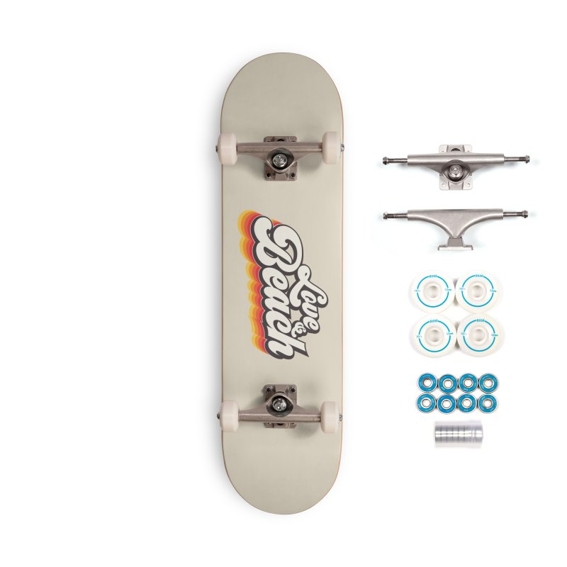 Love & Beach Accessories Complete - Basic Skateboard by YANMOS
