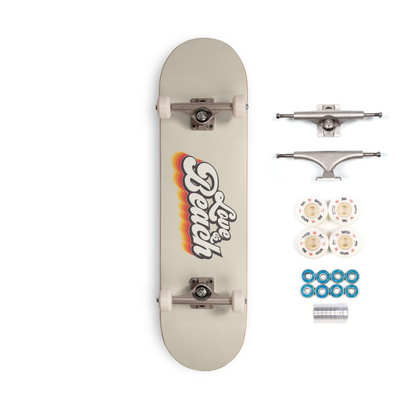 Love & Beach Accessories Complete - Premium Skateboard by YANMOS