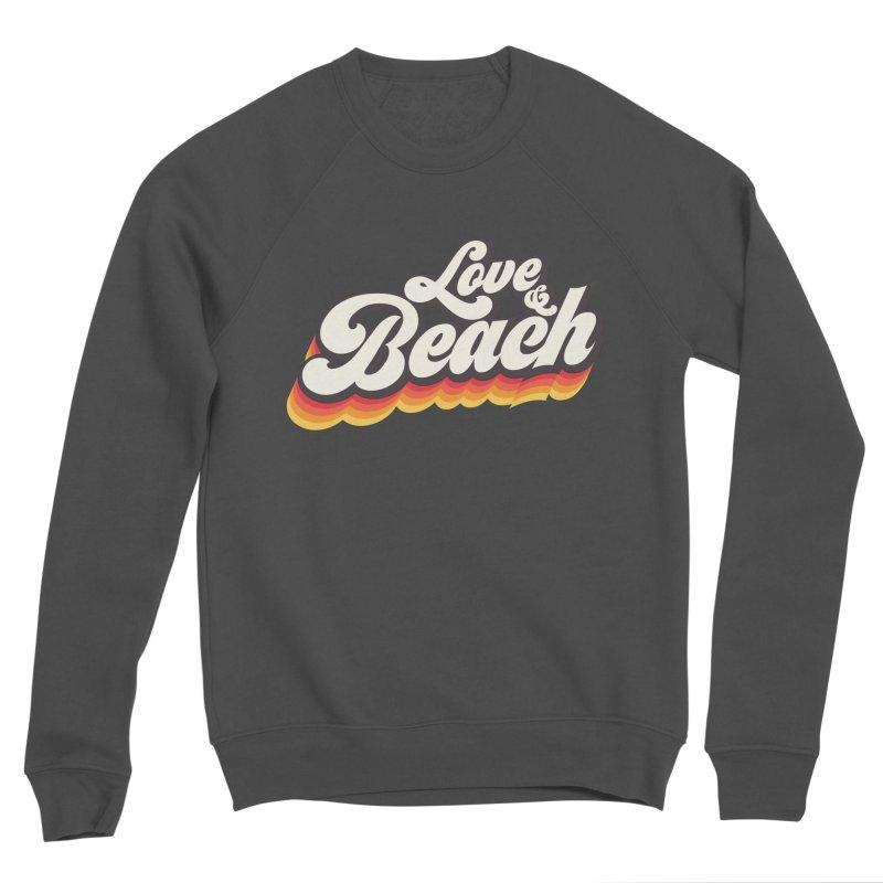 Love & Beach Men's Sponge Fleece Sweatshirt by YANMOS