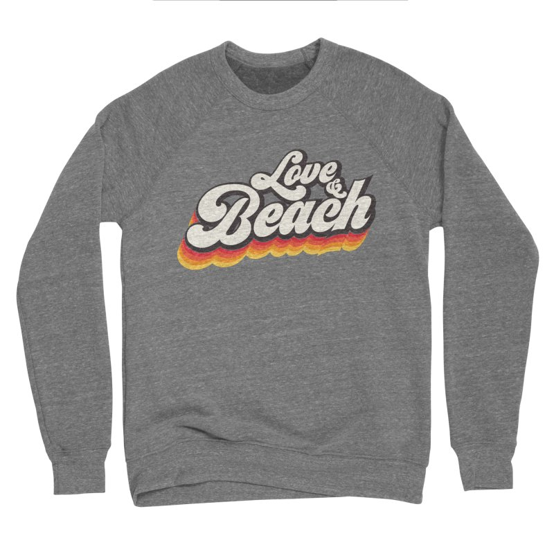 Love & Beach Men's Sponge Fleece Sweatshirt by YANMOS